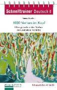 Cover-Bild zu Luscher, Renate: Schnelltrainer Deutsch: 1000 Verben im Kopf