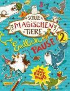 Cover-Bild zu Busch, Nikki: Die Schule der magischen Tiere: Endlich Pause! Das große Rätselbuch Band 2
