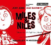 Cover-Bild zu John, Jory: Miles & Niles - Hirnzellen im Hinterhalt (Audio Download)