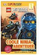 Cover-Bild zu SUPERLESER! LEGO® NINJAGO® Coole Ninja-Abenteuer von Davies, Beth