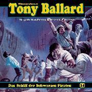 Cover-Bild zu Tony Ballard, Folge 14: Das Schiff der schwarzen Piraten (Audio Download) von Morland, A. F.