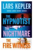 Cover-Bild zu Joona Linna Crime Series Books 1-3: The Hypnotist, The Nightmare, The Fire Witness (eBook) von Kepler, Lars