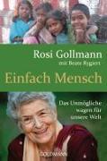 Cover-Bild zu Einfach Mensch von Gollmann, Rosi