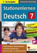 Cover-Bild zu Stationenlernen Deutsch / Klasse 7 (eBook) von Weimann, Viktoria