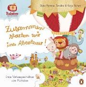 Cover-Bild zu Richert, Katja: Bababoo and friends - Zusammen starten wir ins Abenteuer! (eBook)