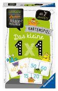 Cover-Bild zu Spitznagel, Elke: Ravensburger 80350 - Lernen Lachen Selbermachen: Das kleine 1 x 1, Kinderspiel für 1-4 Spieler, Lernspiel ab 7 Jahren, Kartenspiel