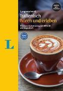 Cover-Bild zu Spitznagel, Elke: Langenscheidt Italienisch hören und erleben - MP3-CD mit Begleitheft