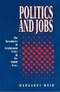 Cover-Bild zu Weir, Margaret: Politics and Jobs (eBook)