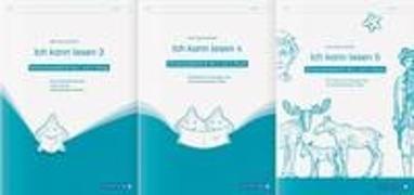 Cover-Bild zu Langhans, Katrin: Ich kann lesen 3, 4 und 5 - 3 Schülerarbeitshefte für die 2. bis 4. Klasse