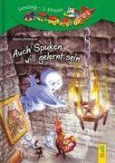 Cover-Bild zu Auch Spuken will gelernt sein von Ammerer, Karin