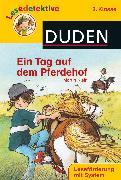 Cover-Bild zu Ein Tag auf dem Pferdehof (2. Klasse) von Klein, Martin