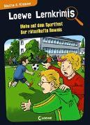 Cover-Bild zu Neubauer, Annette: Loewe Lernkrimis - Diebe auf dem Sportfest / Der rätselhafte Beweis