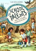 Cover-Bild zu Schellhammer, Silke: School of Talents 3: Dritte Stunde: Monster in Sicht! (eBook)