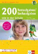 Cover-Bild zu Schneider, Andreas: Klett 200 Textaufgaben / Sachaufgaben wie in der Schule (eBook)