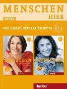 Cover-Bild zu Menschen hier B1/1. Paket: Kursbuch mit DVD-ROM und Arbeitsbuch mit Audio-CD von Braun-Podeschwa, Julia