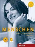 Cover-Bild zu Menschen B1/1. Arbeitsbuch mit Audio-CD von Breitsameter, Anna