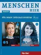 Cover-Bild zu Menschen hier A2/2. Paket: Kursbuch mit DVD-ROM und Arbeitsbuch mit Audio-CD von Habersack, Charlotte