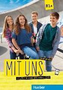Cover-Bild zu Mit uns B1+. Kursbuch von Breitsameter, Anna