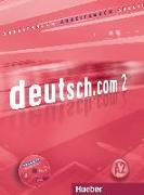 Cover-Bild zu deutsch.com 02. A2. Arbeitsbuch von Breitsameter, Anna