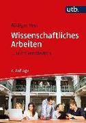 Cover-Bild zu Voss, Rödiger: Wissenschaftliches Arbeiten