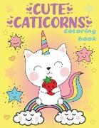 Cover-Bild zu Media, Lucky Craft: Cute Caticorns Coloring Book
