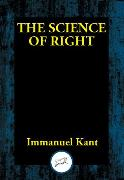 Cover-Bild zu Kant, Immanuel: The Science of Right (eBook)