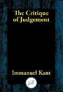 Cover-Bild zu Kant, Immanuel: The Critique of Judgement (eBook)