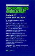 Cover-Bild zu Gijsel, Peter de (Hrsg.): Ökonomie und Gesellschaft / Markt, Norm und Moral