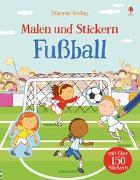 Cover-Bild zu Taplin, Sam: Malen und Stickern: Fußball