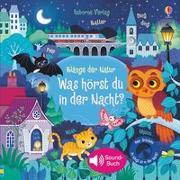 Cover-Bild zu Taplin, Sam: Klänge der Natur: Was hörst du in der Nacht?