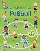 Cover-Bild zu Taplin, Sam: Mein erstes Stickerbuch: Fußball