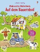 Cover-Bild zu Taplin, Sam: Mein erstes Stickerbuch: Auf dem Bauernhof