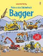 Cover-Bild zu Taplin, Sam: Mein erstes Stickerbuch: Bagger