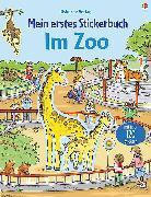 Cover-Bild zu Taplin, Sam: Mein erstes Stickerbuch: Im Zoo