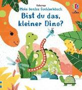 Cover-Bild zu Taplin, Sam: Mein buntes Gucklochbuch: Bist du das, kleiner Dino?