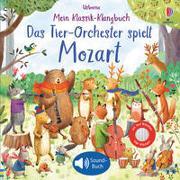 Cover-Bild zu Taplin, Sam: Mein Klassik-Klangbuch: Das Tier-Orchester spielt Mozart