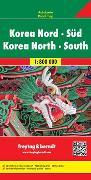 Cover-Bild zu Korea Nord - Süd. 1:800'000