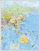 Cover-Bild zu Asien politisch. Wandkarte