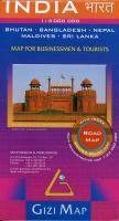Cover-Bild zu India Road Map 1 : 3 000 000. 1:3'000'000
