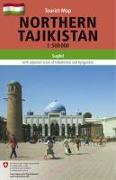 Cover-Bild zu Northern Tajikistan 1 : 500 000