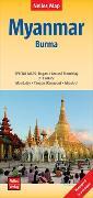 Cover-Bild zu Nelles Map Myanmar 1 : 1 500 000