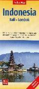 Cover-Bild zu Nelles Map Landkarte Indonesia : Bali, Lombok 1 : 180 000. 1:180'000