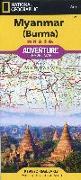 Cover-Bild zu Touristische Karte Myanmar ( Burma) 1:148 0000. 1:1'480'000