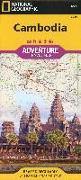 Cover-Bild zu Touristische Karte Cambodia 1:525000. 1:525'000