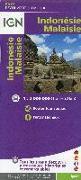 Cover-Bild zu Indonésie, Malaisie 1 : 2.000.000. 1:2'000'000
