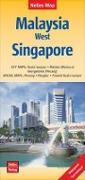 Cover-Bild zu Nelles Map Malaysia: West, Singapore 1 : 1 500 000 / 1 : 15 000