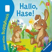 Cover-Bild zu Tünner, Klara: Mein erstes Buggybuch: Hallo, Hase!