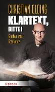 Cover-Bild zu Olding, Christian: Klartext, bitte!