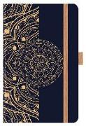"Cover-Bild zu Korsch, Verlag (Hrsg.): Buchkalender Times Small Trend ""Ornaments"" 18 Monate 2022/2023"