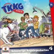Cover-Bild zu TKKG Junior - 012/Schmierige Angelegenheiten